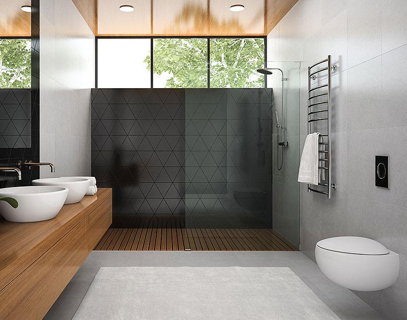 Ein modernes barrierefreies Badezimmer in Gladbeck