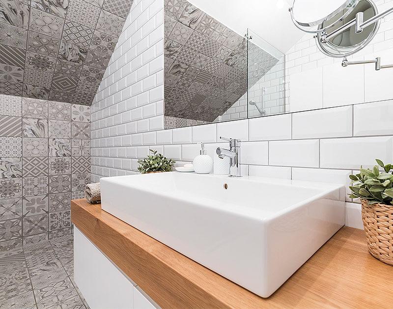 Ansprechende Gestaltung eines Badezimmers in Gladbeck