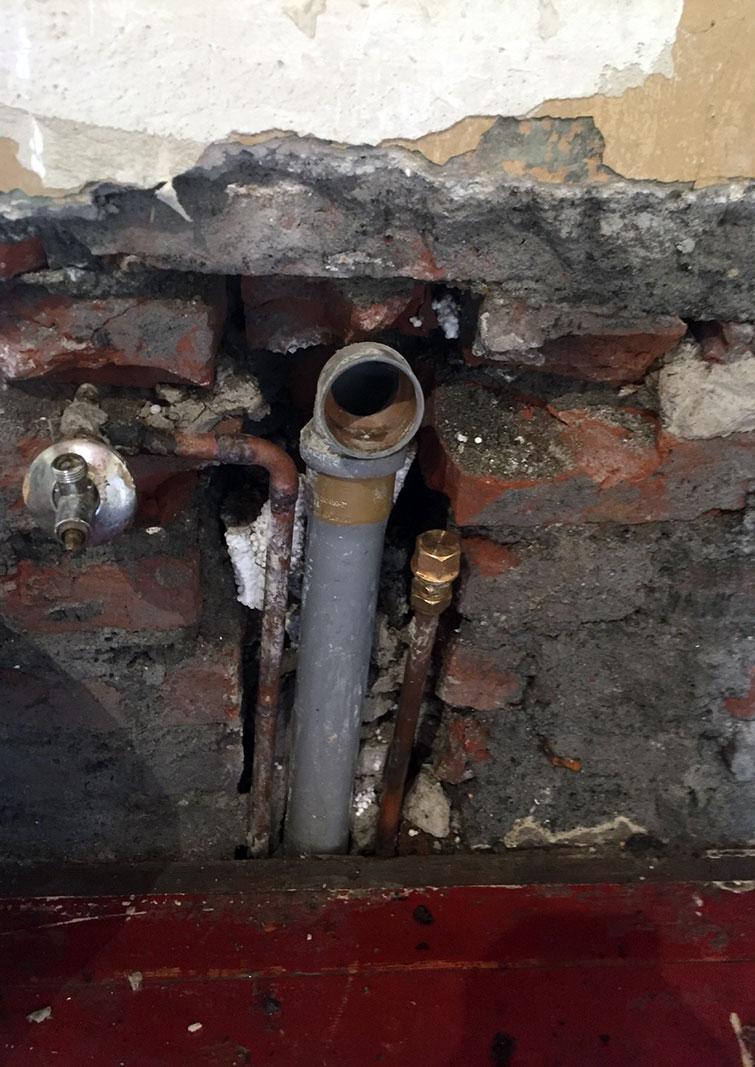 Folgeschäden eines Rohrbruches in Recklinghausen