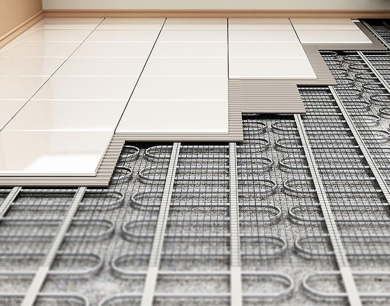 Fußbodenheizung von HGT
