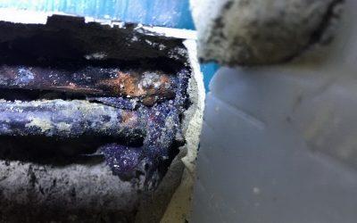 Rohrbruch – Lochfraß an Kupferleitungen