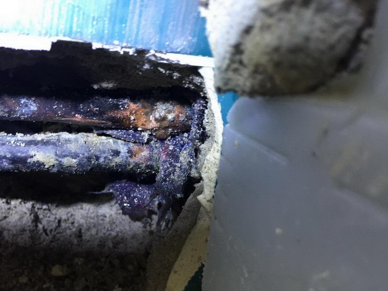 Kupferleitungen