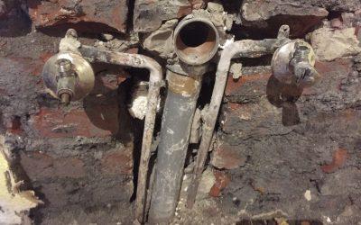 Rohrbruch – Wasserleitung Küche
