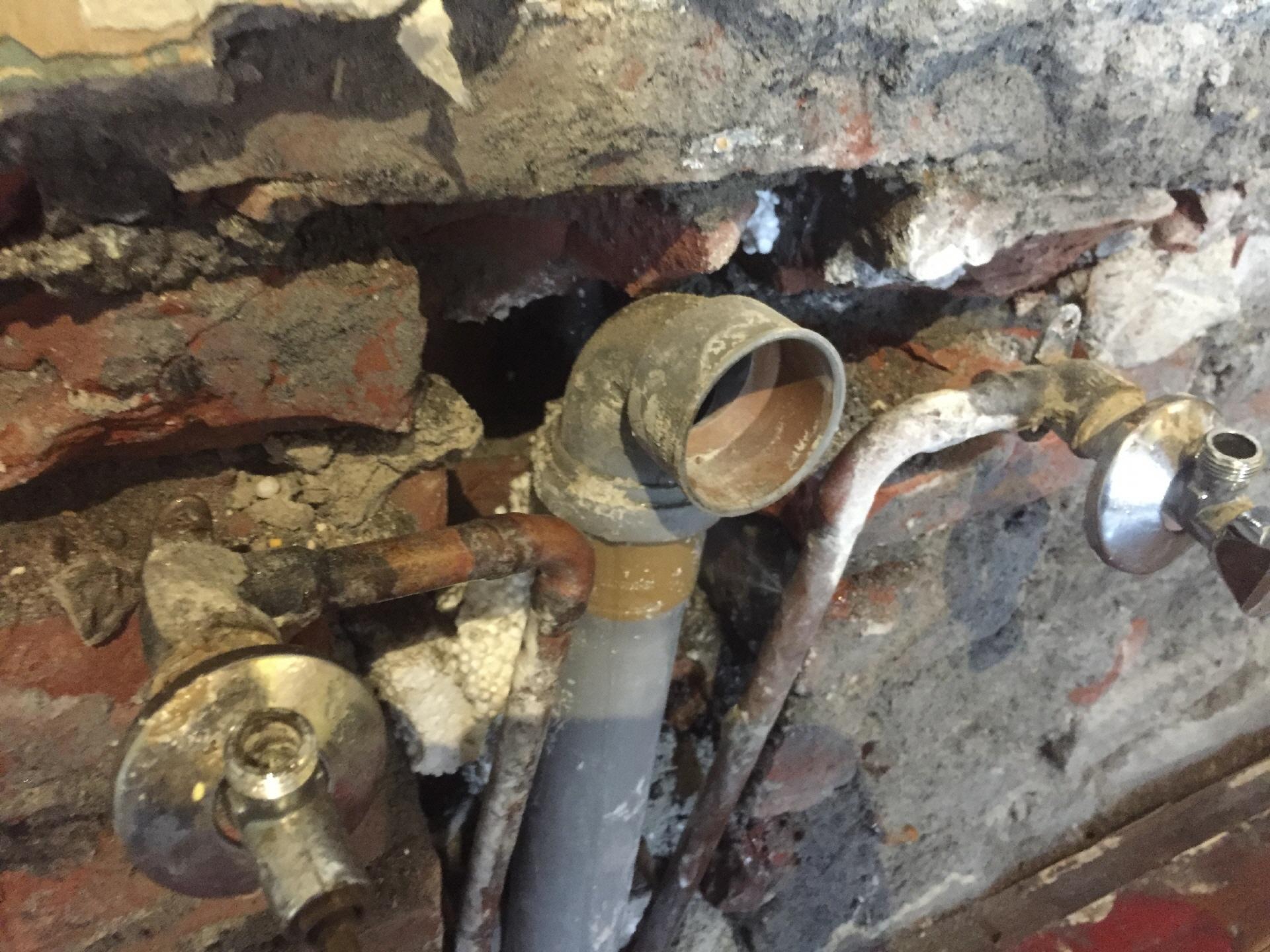 Wasserleitungsschaden